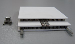 3-stage thermoelectric coolers, Peltier elements