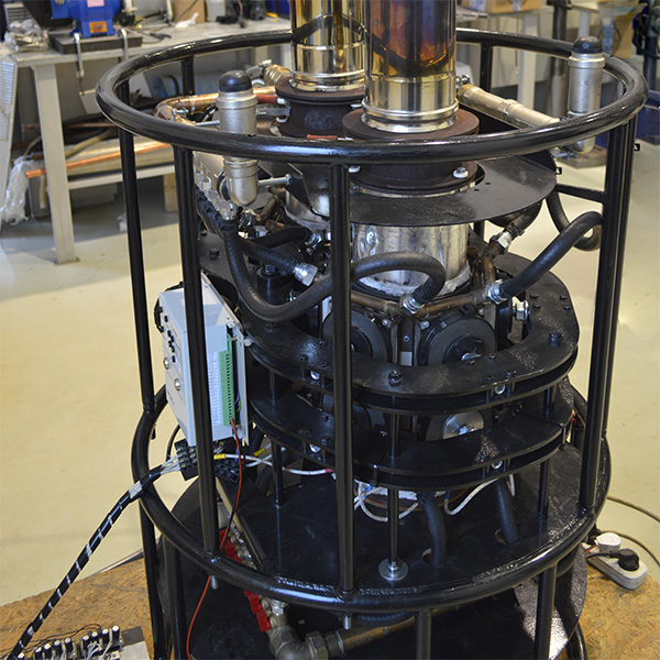 Successful tests of the GTEG-1000 generator were carried out.