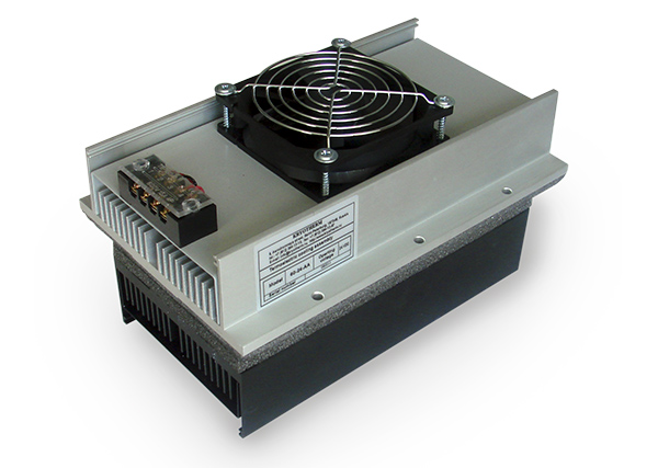 air-air thermoelectric cooling assemblie