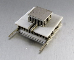 2-stage thermoelectric module, Peltier elements